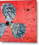 Screw Propeller Metal Print