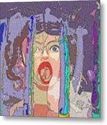 Screwed By Credit Metal Print