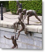 Sculpture By The Bay Metal Print