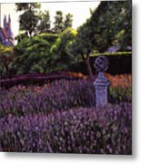Sculpture Garden Metal Print