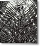Sculpture In The Phs Building At The European Parliament Of Brussels Metal Print