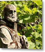 Sculpture On Torcello In Venice Metal Print