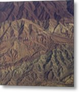 Sculptured Hills- Afghanistan Metal Print