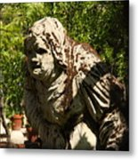 Scultpure On Torcello In Venice Metal Print
