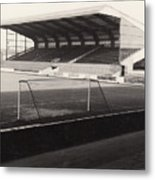 Scunthorpe United - Old Showground - East Stand 1 - Bw - 1960s Metal Print