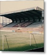 Scunthorpe United - Old Showground - East Stand 2 - 1970s Metal Print
