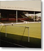 Scunthorpe United - Old Showground - Main Stand 2 - 1970s Metal Print