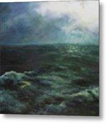 Sea And Sky Metal Print by Diane Kraudelt