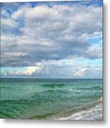 Sea And Sky - Florida Metal Print by Sandy Keeton