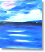 Sea Blue Sky Metal Print