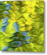Sea Breeze Mosaic Abstract Metal Print