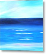 Sea Calm Metal Print