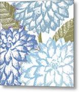 Sea Dahlias I Metal Print