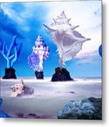 Sea Dancers Metal Print