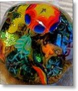 Sea Flower Tidepool 1 Metal Print