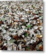 Sea Glass From Mother Nature  Metal Print