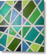 Sea Glass Revisited Metal Print