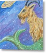 Sea Goat Metal Print