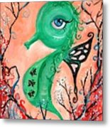 sea horse -In Love Metal Print