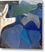Sea Jewels Metal Print