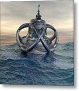 Sea Lab Metal Print