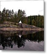 Sea Mark On An Islet At Lake Saimaa Metal Print