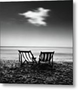 Sea Moment Metal Print