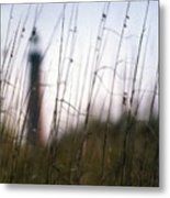 Sea Oats Dunes  Metal Print