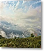 Sea Of Clouds Metal Print by Manuel Benito
