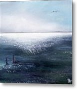 Sea Of  Glass Metal Print
