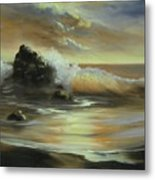 Sea Of Gold Metal Print
