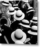 Sea Of Hats Metal Print