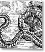 Sea Serpent, 1555 Metal Print