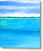 Sea Shallow Metal Print