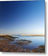 Sea Shore Wells Next The Sea Norfolk Metal Print