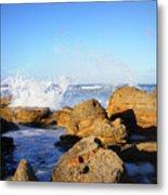 Sea Splash Metal Print