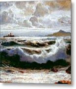 Sea Storm Metal Print