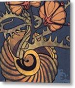 Sea Vase Metal Print