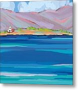 Sea View Galaxidhi Metal Print