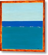 Sea View Metal Print