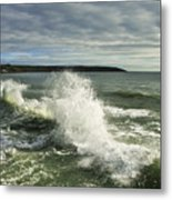 Sea Waves2 Metal Print