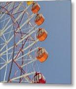 Seacle Ferris Wheel Metal Print