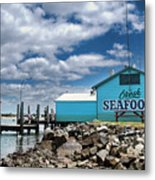 Seafood On The River  Metal Print