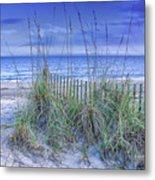 Seagrass And Sand Metal Print