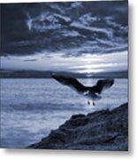 Seagull Metal Print by Jaroslaw Grudzinski