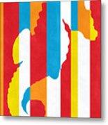 Seahorse 1505 Metal Print