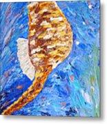 Seahorse Number 1 Metal Print