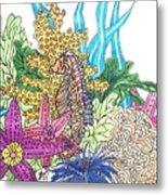 Seahorse Sanctuary  Metal Print