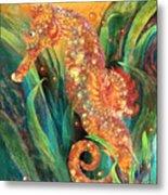 Seahorse - Spirit Of Contentment Metal Print