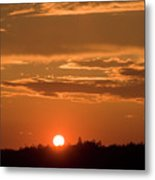 Seal Cove Sunset Metal Print